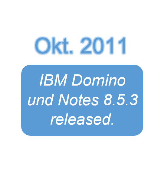 IBM Domino und Notes 8.5.3 released.