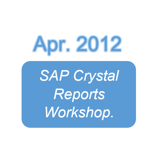 SAP Crystal Reports Workshop.