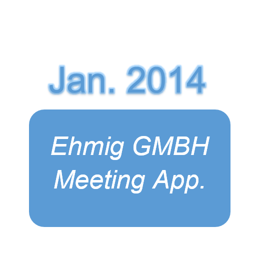 Ehmig GMBH Meeting App.