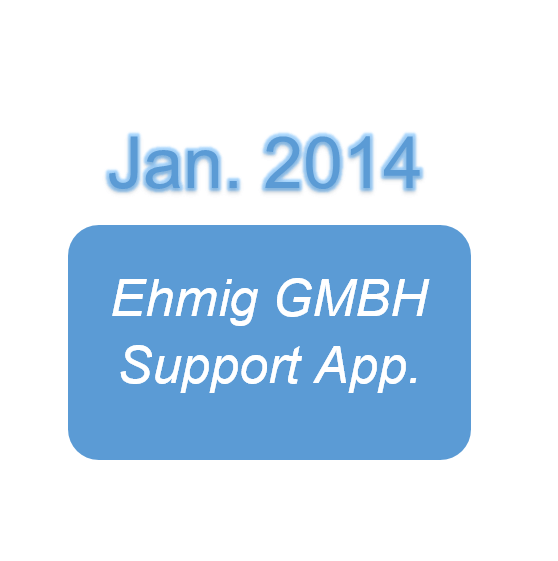 Ehmig GMBH Support App.