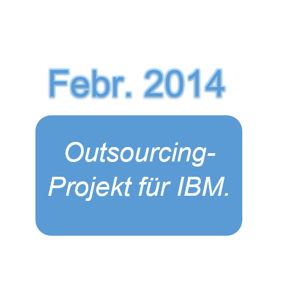 Outsourcing Projekt für IBM.
