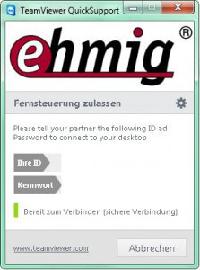 Ehmig GmbH Support